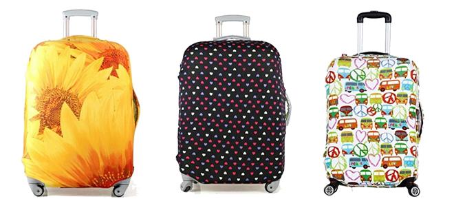 41651407d110 Стильные чемоданы и яркие чехлы – на все случаи жизни- Алматы ...