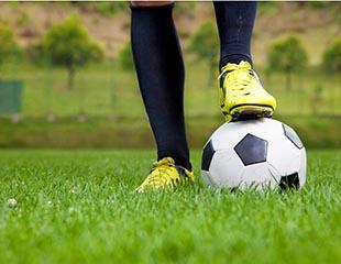 А не погонять ли в футбол? Аренда футбольного поля на 1, 2 или 3 часа со скидкой до 89%!