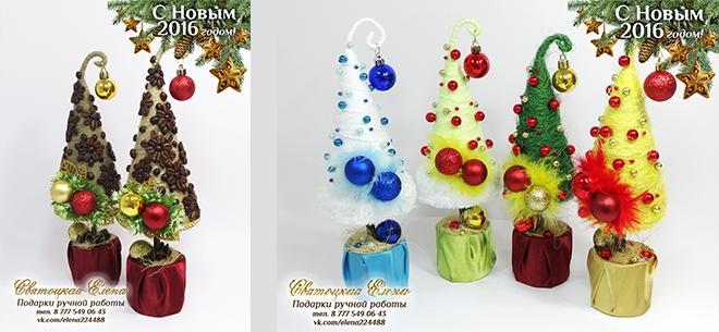 befd71d3e9f0 Подарки ручной работы: кофейные елочки и магниты, подарочные бутылки ...
