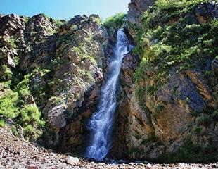 Туры на Тургеньские водопады с посещением Страусиной фермы, а также Чарынский каньон и озеро Иссык со скидкой до 42% от ТАУ ТУРKZ!