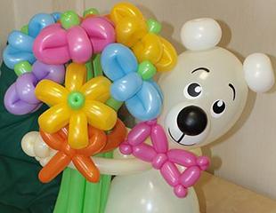 Яркое оформление Вашего праздника! Оригинальные фигуры из шаров со скидкой до65% от компании Мечты Сбываются!
