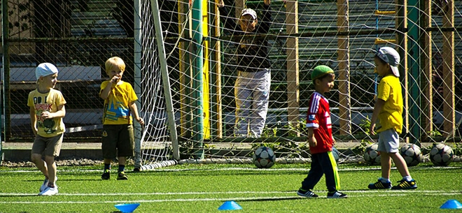 Футбольная секция для деток от 10 лет