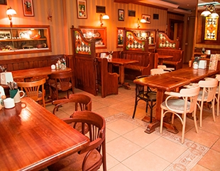 РесторанХмельная Пражечка на Фурманова: любимые напитки, огромные порциигорячих блюд и закуcок - все соскидкой 40%!