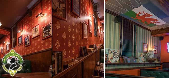 TheSherlock Holmes pub, 6