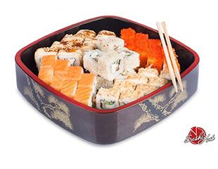 Вкусно, сытно и быстро! Вкуснейшая пицца и суши со скидкой 50% от Sushi Hut!