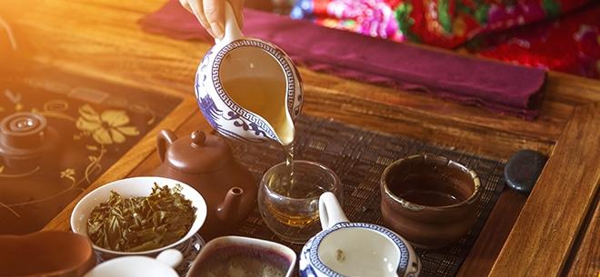 Большой выбор чая Улун, 1