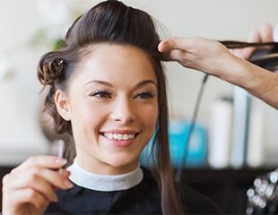 Стрижки, укладки, окрашивание, кератиновое лечение и ламинация со скидкой до 65% в салоне красоты Bylgari!
