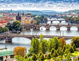 Авиаперелет Алматы-Прага-Алматы через Киев на самолетах авиакомпании МАУ + проживание в отеле от компании Travel Bank со скидкой до 34%!