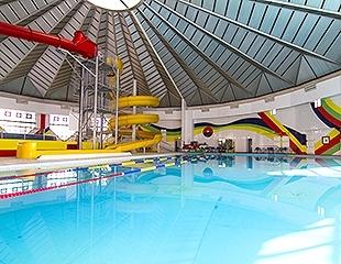 Летние радости в любую погоду! Скидка до 50% на входные билеты, а также 3, 6 или 12 месяцев посещения крытого аквапарка в санатории Алатау!