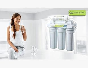 Кристально чистая вода в Вашем доме! 8-стадийная система очистки воды на основе обратного осмоса с насосом со скидкой 50%!