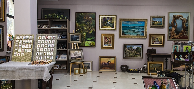 Arovana art gallery, 7