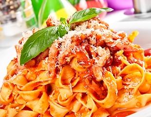 Соба, феттучини, роллы и блюда в аппетитных сетах от Olivo cafe со скидкой 100%!