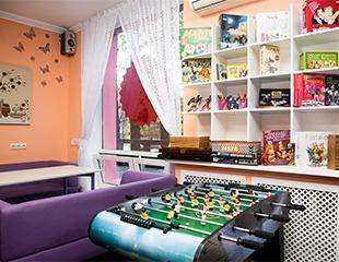 Самые популярные настольные игры, сладости, чай и кофе без ограничений,Sony PlayStation4, трансляция матчей и многое другое в антикафе «Как дома»!Скидка до 55%