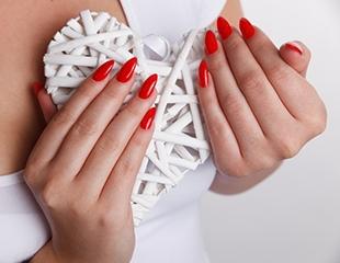 Выберите форму и размер по своему вкусу! Все виды наращивания ногтей в салоне красоты Jack со скидкой до 61%!