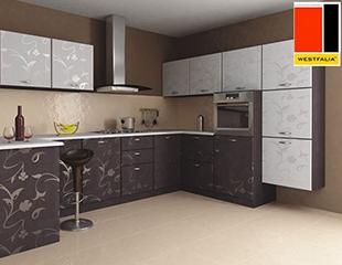 Обновите Ваш кухонный гарнитур! Скидка до 60% на приобретение фасадов европейских производителей и столешниц из ЛДСП, а также -50% на изготовление кухонных гарнитуров, шкафов купе и гардеробных комнат от компании Westfalia!