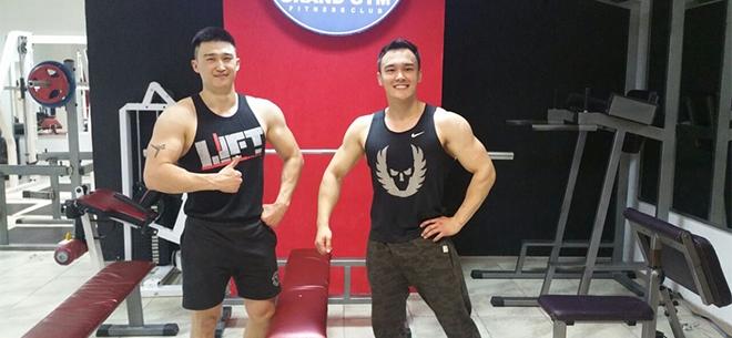 Grand Gym, 3