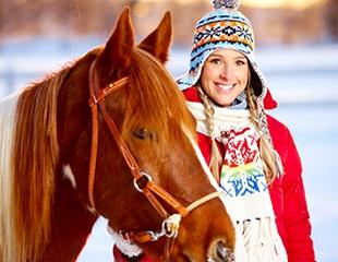 Для детей и взрослых! Индивидуальные занятия и конные прогулки в конном клубе Аргымак со скидкой до 83%!