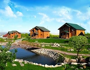 Чистый воздух, прекрасные виды и отдых от городской суеты! Аренда коттеджей в природно-развлекательном парке Home Club со скидкой до 50%!