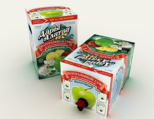 Натуральный яблочный сок «Дары Алатау» от магазина Elitalco.kz! 3 литра по-настоящему полезного продукта со скидкой 50%!