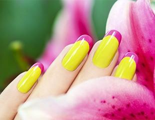 Наращивание ногтей акрилом с различным дизайном от салона красоты в бизнес-центре City Center.Скидка до 61%