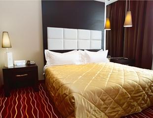 Уют и комфорт! Проживание в одноместных и двухместных номерах со скидкой 50% в четырехзвездочном бутик-отеле Manhattan Astana!