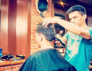 Стильная прическа и ухоженная борода! Скидка 50% на стрижки и бритье в OldBoy Barbershop!