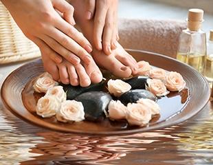 Красота кроется в деталях! Маникюр, педикюр а также наращивание ногтей со скидкой до 58% в салоне красоты Дильназ!