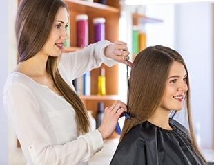 Полный комплекс процедур! Стрижки, укладки, различные виды окрашивания, Hair SPA, полировка, омбре и мелирование от мастера Маги со скидкой до 79%!