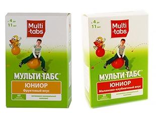 Скидка 50% на детские витамины Мульти-табс Юниор® с малиново-клубничным или фруктовым вкусом!