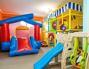 Скидка до 50% на проведение детских праздников и дней рождения, а также аттракционы в игровой комнате Kids party!