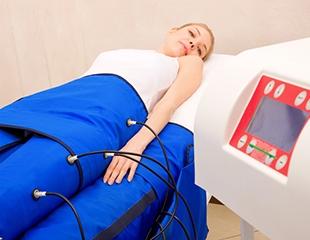 Миостимуляция, прессотерапия, а также безоперационная подтяжка и увеличение груди в студии красоты Эль & Com! Скидка до 79%