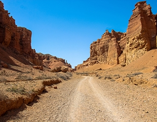 Увлекательные туры выходного дня! Посетите Чарынский каньон, Тургеньские водопады и многое другое со скидкой до 43% от GV Company!