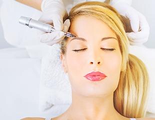 Татуаж бровей, век, губ, коррекция и окрашивание бровей и многое другое со скидкой до 86% от косметологического центра COS MED!