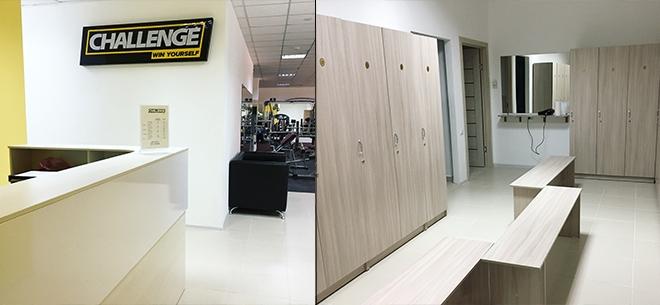 Тренажерный зал Challenge Gym, 6