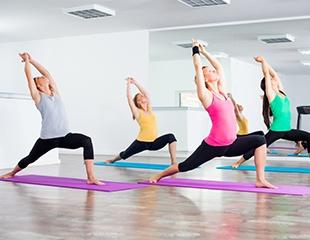 Занятия йогой в студии Shanti: Хатха, Айенгар, Аштанга, Виньяса, антистресс, женская, йога для беременных и йога 60+, а также чакра медитация со скидкой 55%!