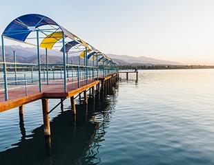 Отдых в пансионатах «Дельфин» и «Алмазный Берег» на озере Иссык-Куль от Asia Discovery со скидкой 30%!