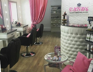 Коррекция и окрашивание бровей, ламинация ресниц, а также удаление волос с различных частей лица от Candy Brow bar со скидкой 50%!
