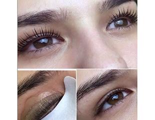 Наращивание, ботокс, ламинация, завивка ресниц и коррекция бровей от косметолога Саламбековой Индиры и Карибай Алтынай со скидкой до 57%!