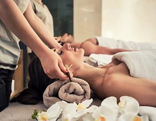 Романтические SPA-процедуры для двоих: «Шоколадный рай», «Медовая нега», «Блаженство», а также стоун-массаж со скидкой до 62% в салоне эстетики тела Grace!