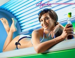 Загорелые в любой сезон! Посещение горизонтального солярия в салоне аппаратной косметологии Адеми со скидкой до 71%!
