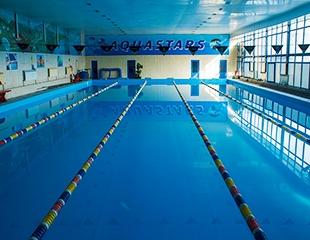 Обучение плаванию и аквааэробика для взрослых и для детей со скидкой 50% в комплексе Aquastars!
