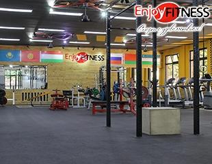 Фитнес клуб ATLANTIC сети Enjoy Fitness: Безлимитное посещение тренажерного зала и бесплатные персональные тренировки, Коррекция фигуры, Пилатес, Zumba! Занятия со скидкой до 70%!