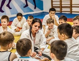 Karate-do kyokushinkaikan для детей и взрослых, а также фитнес-каратэ для девушек со скидкой до 80% в боевом клубе Arlan!
