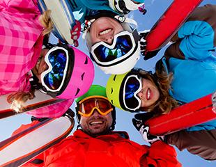 Скидка до 55% на прокат лыж или сноубордов в будние и выходные дни от компании Drive!