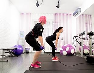 Хотите выглядеть потрясающе уже в Новом году? Всего 40 минут в неделю и -3 кг в месяц! Скидка до 25% на EMS-тренировки в новой студии FITEMS!
