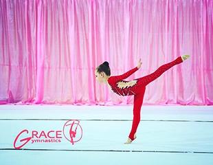 Занятия художественной гимнастикой в Профессиональном клубе гимнастики Grace!