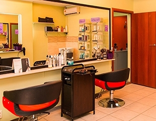 Полное восстановление всего за один сеанс! Лечение волос огнем + стрижка и укладка, различные виды выпрямления от Мастера Маги со скидкой до 79%!