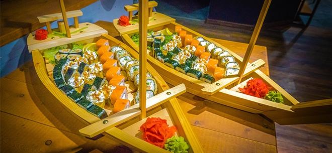 Ginger Sushi, 1