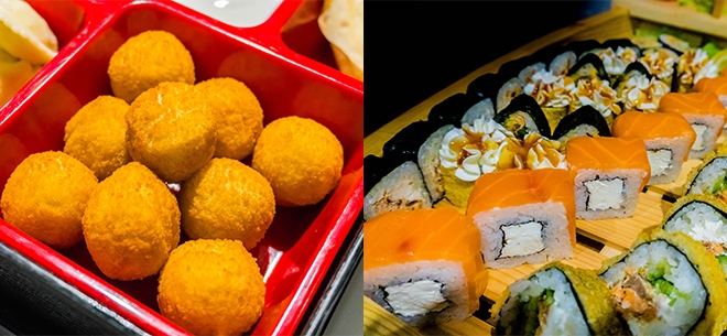 Ginger Sushi, 5