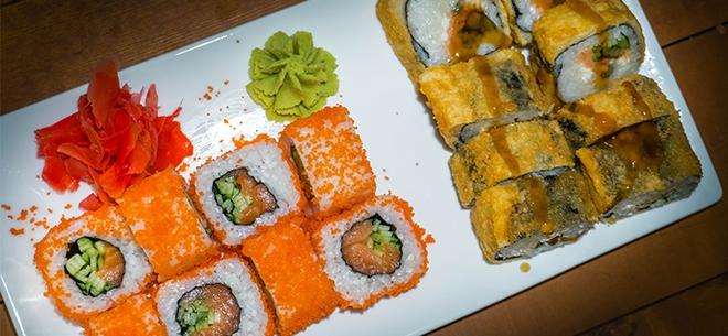 Ginger Sushi, 7